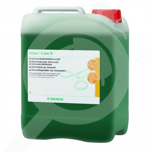 b braun disinfectant helipur h plus n 5 litres - 1
