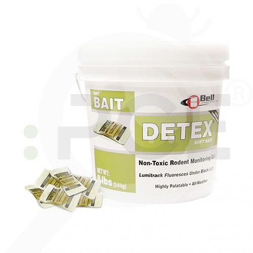 eu bell labs trap detex soft bait 3 6 kg - 2