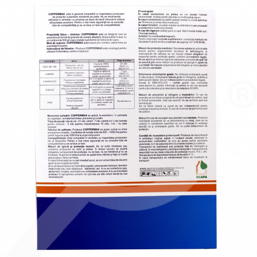 eu nufarm fungicide coppermax 1 kg - 2