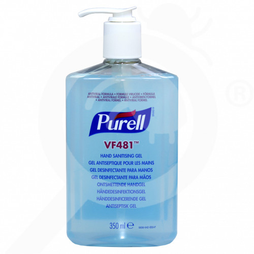 eu gojo disinfectant purell vf481 350 ml - 5