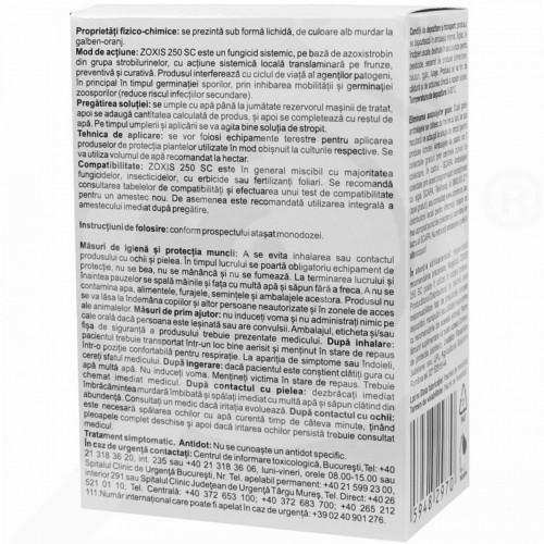 eu arysta lifescience fungicide zoxis 250 sc 10 ml - 0