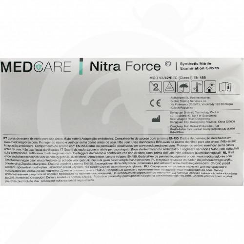 eu lyncmed safety equipment nitrile blue powder free xl - 0