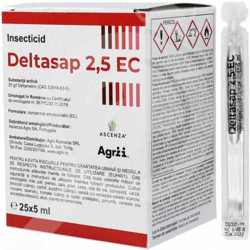 eu ascenza insecticide crop deltasap 2 5 ec 5 ml - 0