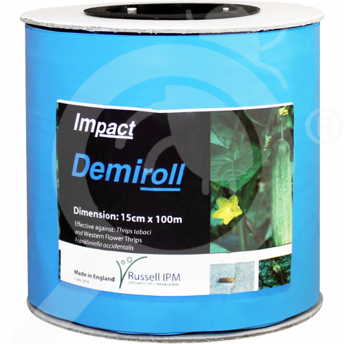 eu russell ipm pheromone optiroll blue glue roll 15 cm x 100 m - 0