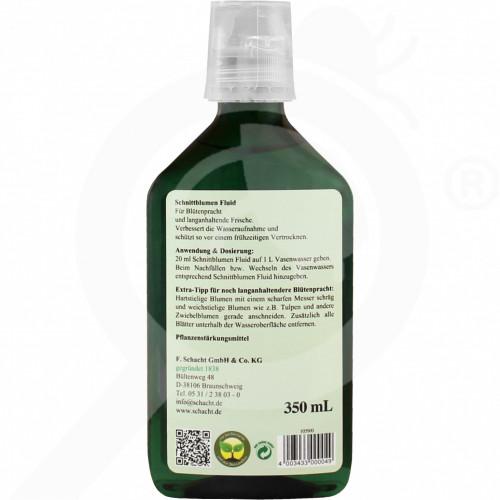 eu schacht fertilizer cut flower fluid schnittblumen 350 ml - 1