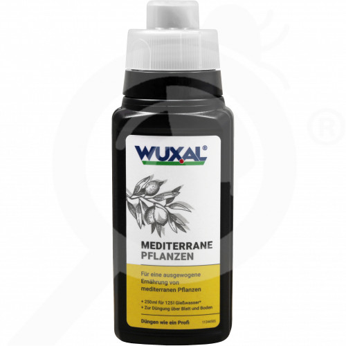 eu hauert fertilizer wuxal mediterranean plants 250 ml - 0