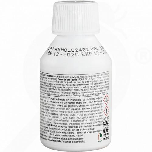 eu syngenta insecticide crop minecto alpha 100 ml - 0