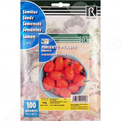 eu rocalba seed habanero orange 100 g - 2