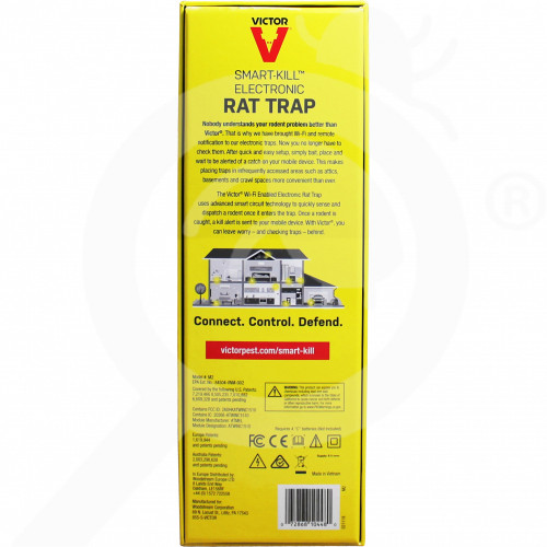 eu woodstream trap victor smartkill electronic wi fi rat trap - 1