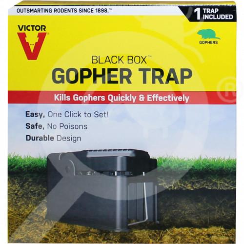 eu woodstream trap victor blackbox 0626 gopher trap - 1