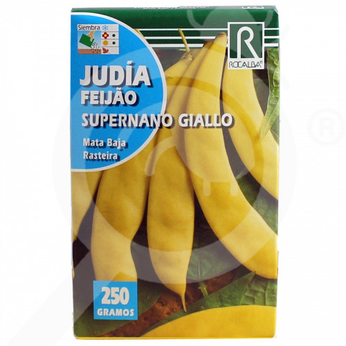 eu rocalba seed yellow beans supernano giallo 100 g - 0