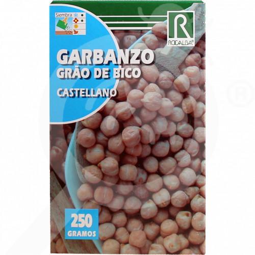 eu rocalba seed chickpea castellano 250 g - 0
