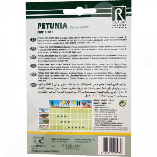 eu rocalba seed petunia fire chief 0 5 g - 0