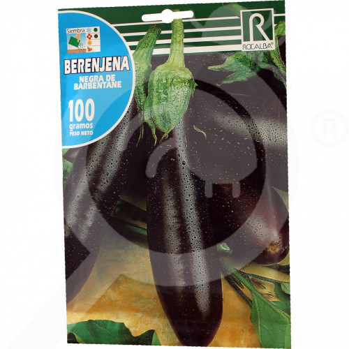 eu rocalba seed eggplant negra de barbentane 100 g - 0
