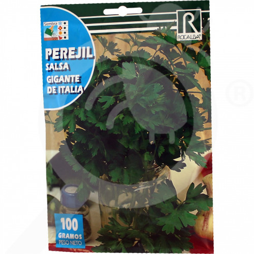 eu rocalba seed parsley gigante de italia 100 g - 0