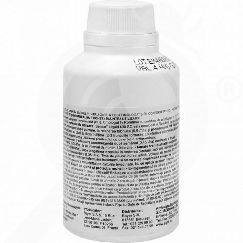 eu bayer herbicide sencor 600 sc 100 ml - 1