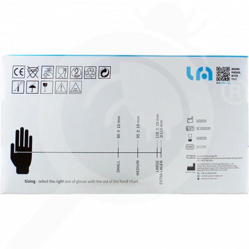 eu lyncmed safety equipment nitrile blue powder free m - 0