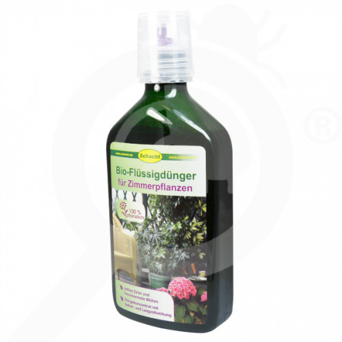 eu schacht fertilizer interior plants organic fertilizer 350 ml - 0