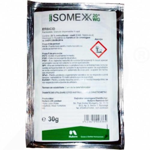 eu nufarm herbicide isomexx 20 wg 1 kg - 0