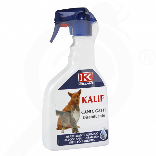 eu kollant repellent kalif dogs cats 750 ml - 1