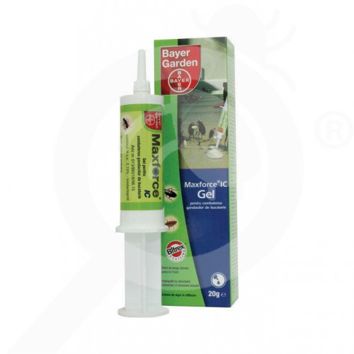 eu bayer garden insecticide maxforce ic gel 20 g - 11