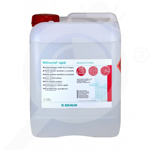 b braun disinfectant meliseptol rapid 5 litres - 2