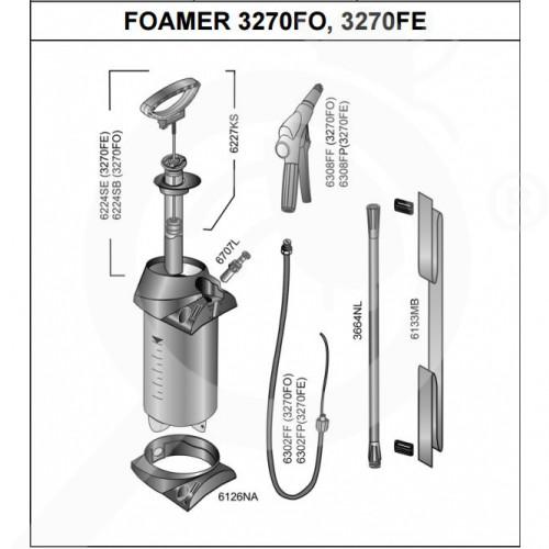 mesto sprayer 3270fo foamer - 1
