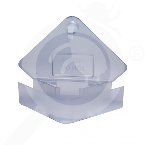 bait station ghilotina s14 mice box corner transparent - 3