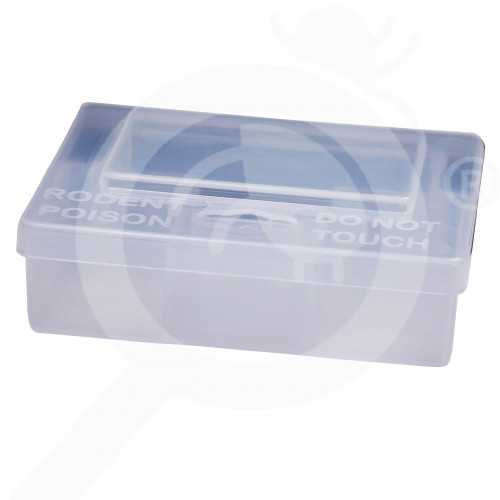 bait station ghilotina s125 mice box transparent - 3