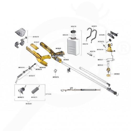 volpi micronizer jolly m10v - 2
