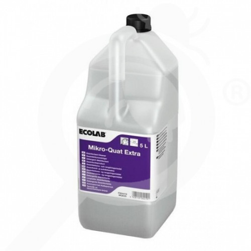 eu ecolab disinfectant mikro quat extra 5 l - 0