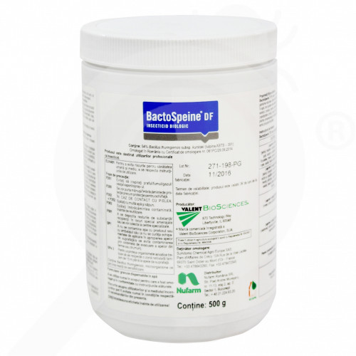 eu nufarm insecticid agro bactospeine df 500 g - 1