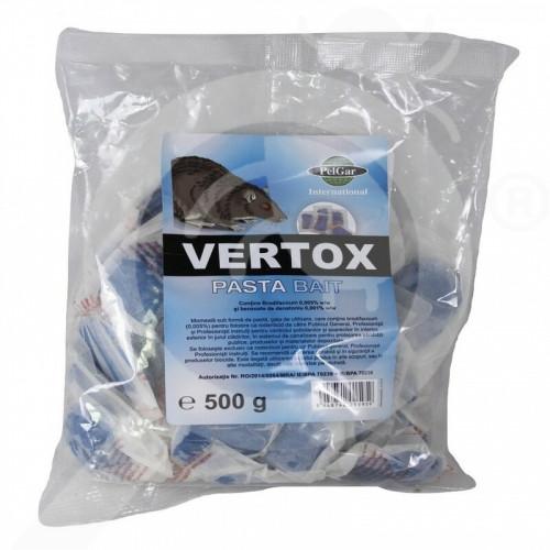 eu pelgar rodenticide vertox pasta bait 500 g - 1