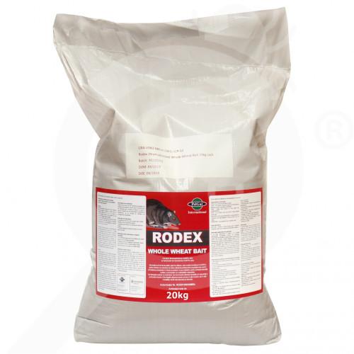 pelgar rodenticide rodex whole wheat 20 kg - 1