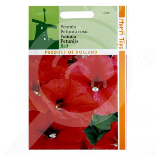 eu pieterpikzonen seed petunia nana compacta red 0 2 g - 1