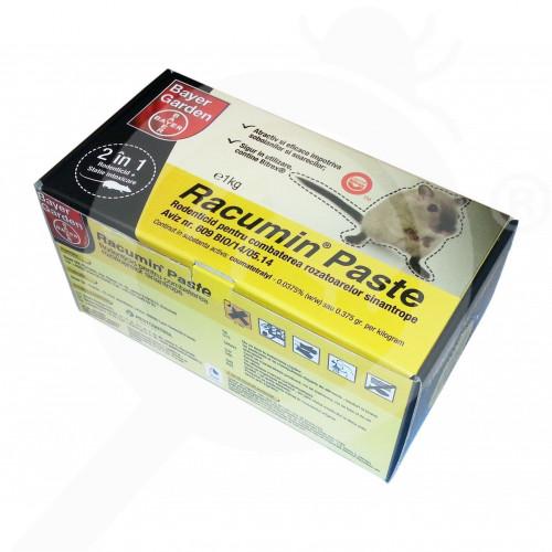 bayer rodenticide racumin paste 1 kg bait station - 2