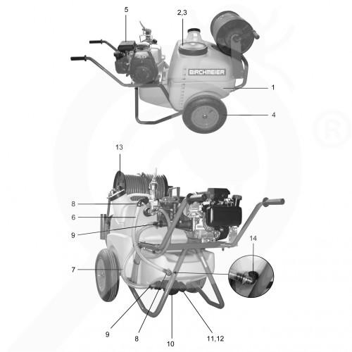 birchmeier sprayer a130 petrol engine - 3