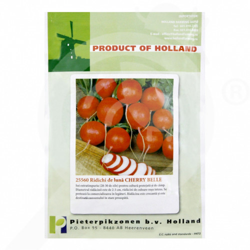 eu pieterpikzonen seed cherry belle 50 g - 1