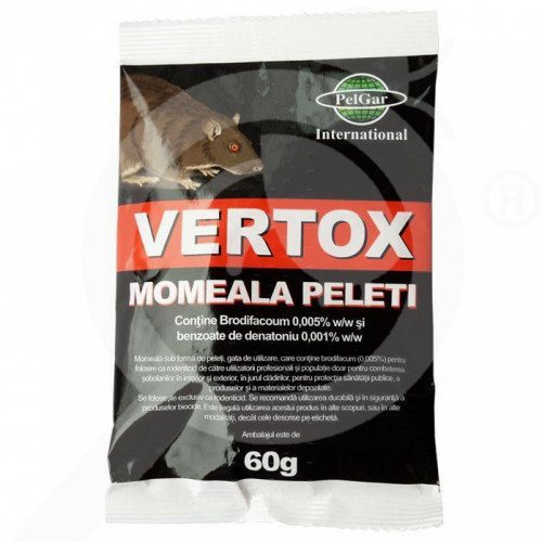 eu pelgar rodenticide vertox pellets 60 g - 3