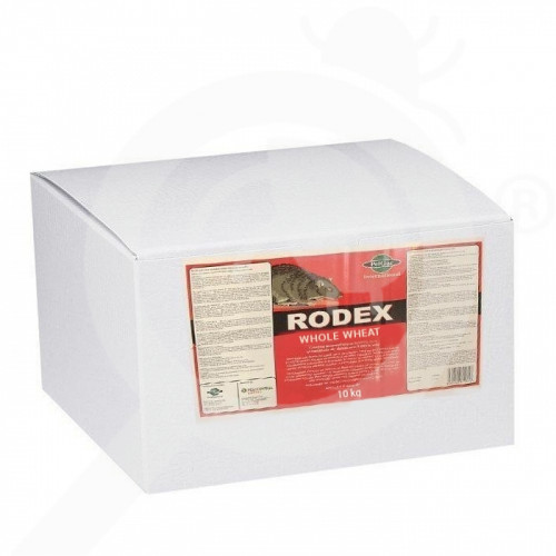pelgar rodenticide rodex whole wheat 10 kg - 1