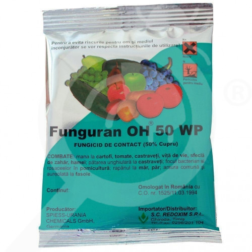 eu spiess urania chemicals fungicid funguran oh 50 wp 300 g - 1