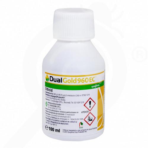 eu syngenta erbicid dual gold 960 ec 100 ml - 1