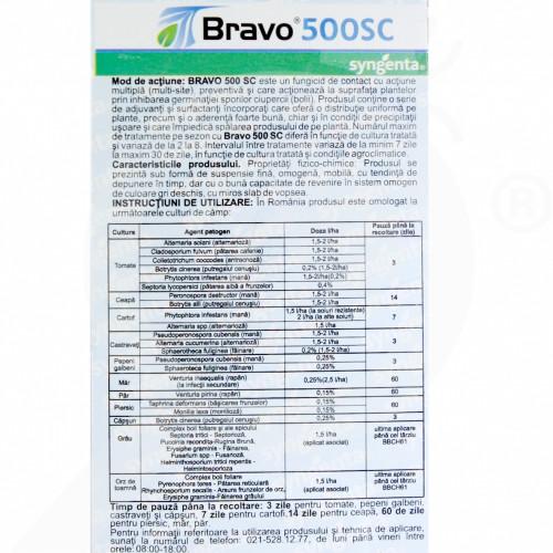 eu syngenta fungicid bravo 500 sc 20 ml - 3