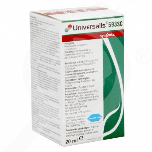 eu syngenta fungicid universalis 593 sc 20 ml - 1