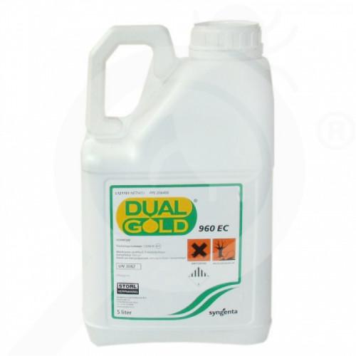 eu syngenta erbicid dual gold 960 ec 5 litri - 1