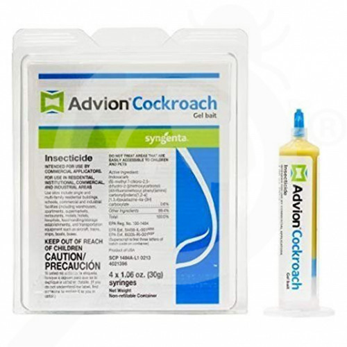 Advion Cockroach Gel Bait, 30 g