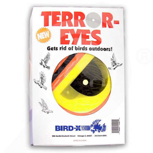 bird x repellents terror eyes bird repellent - 2