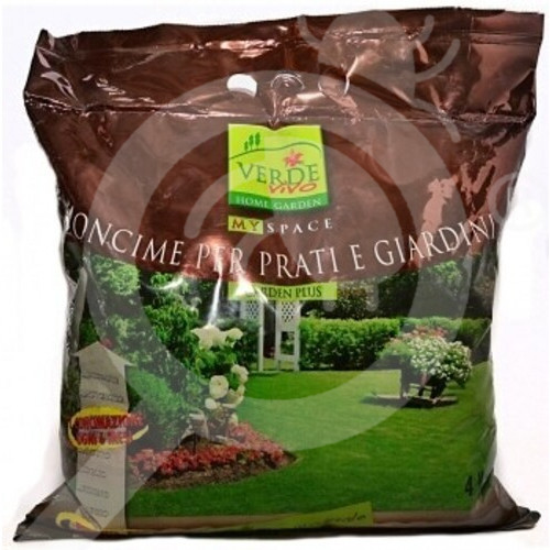 eu verde vivo fertilizer grass 4 kg - 0