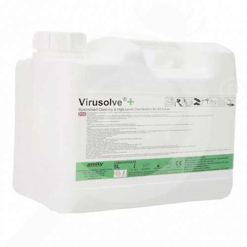 amity international disinfectants virusolve plus 5 litres - 1