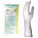 fr b braun gloves vasco surgical powdered 6 5 2 p - 2, small